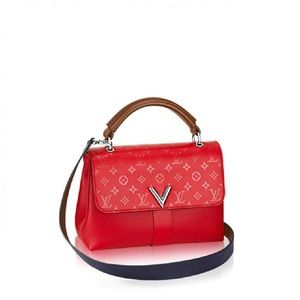 Authentic LouisVuitton Tri-Color Very OHandle Bag